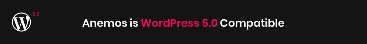 Anemos WordPress 5.0