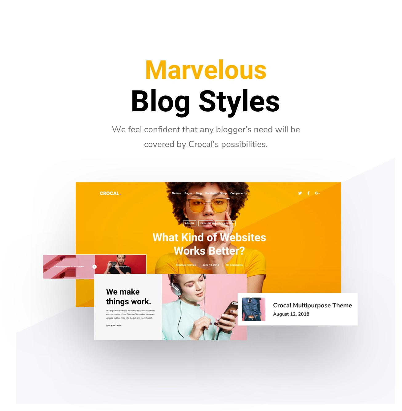 Crocal Blog styles