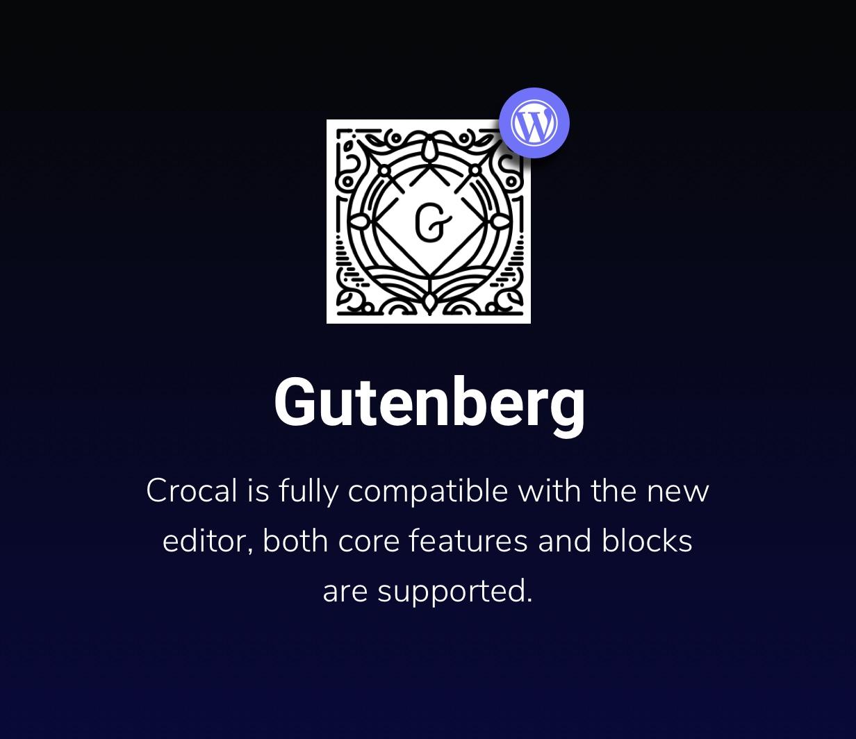 Crocal Gutenberg