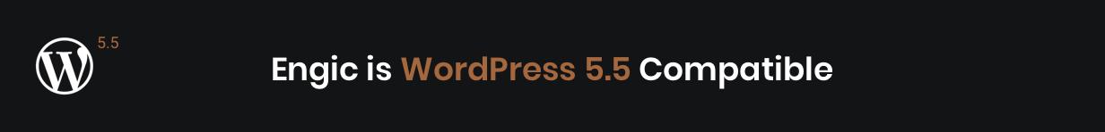 Engic WordPress 5.5