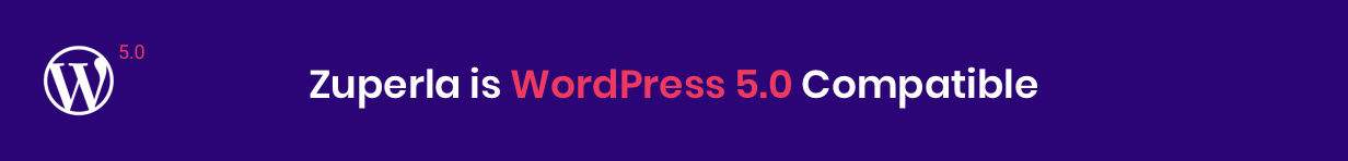 Zuperla WordPress 5.0