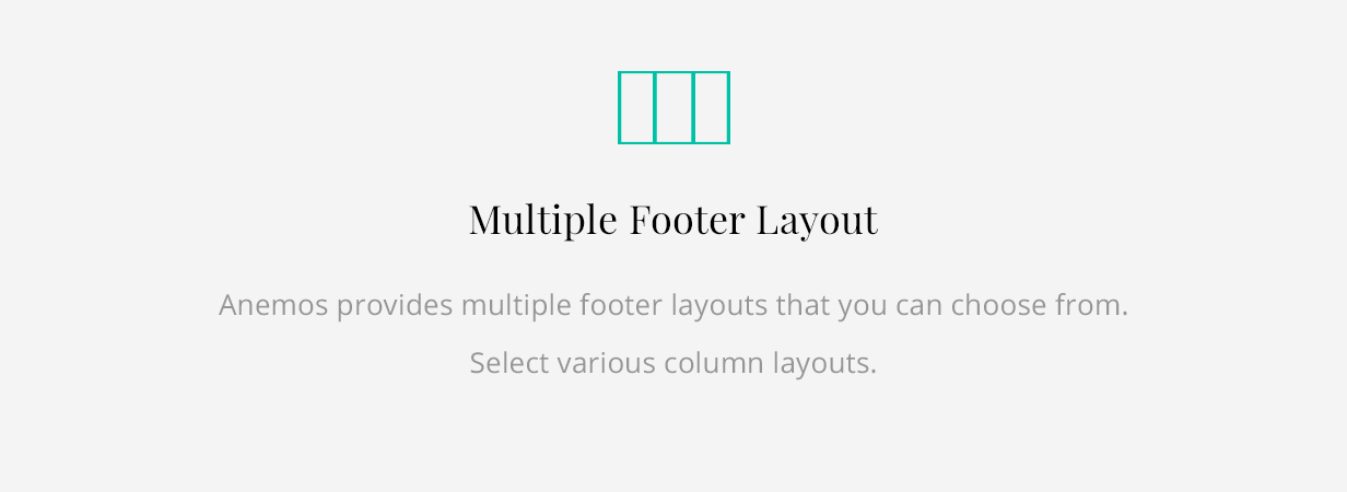 Anemos Footer