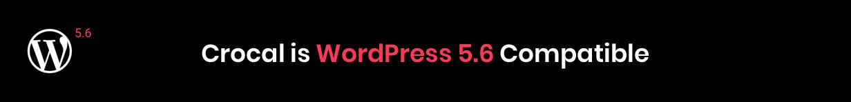 Crocal WordPress 5.6