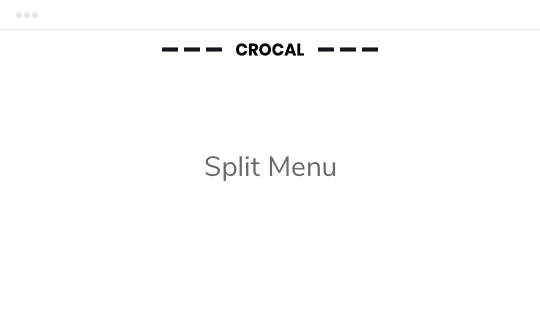 Crocal Header